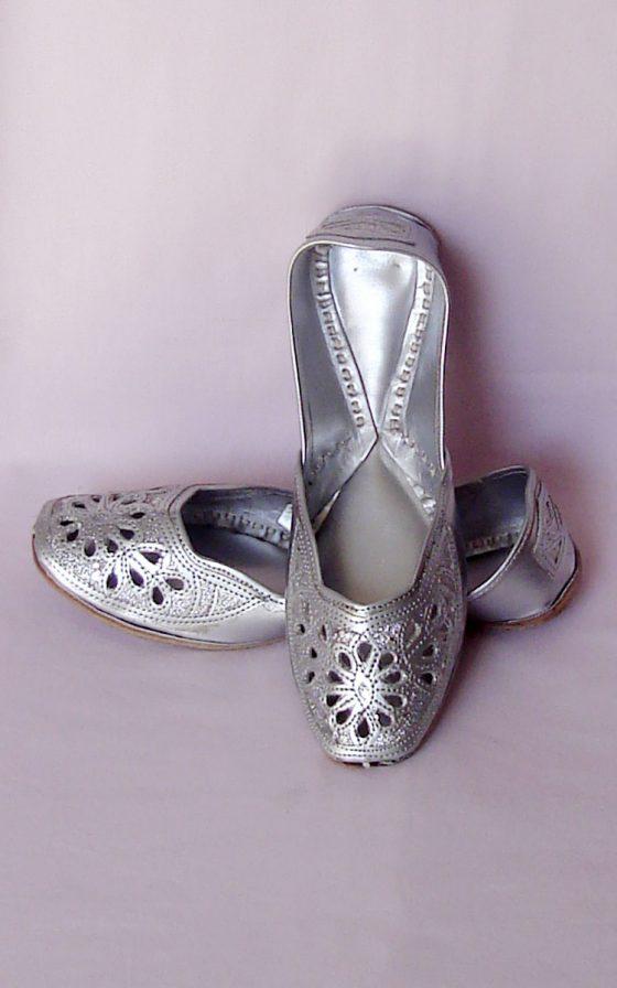 Silver Designer Jutti