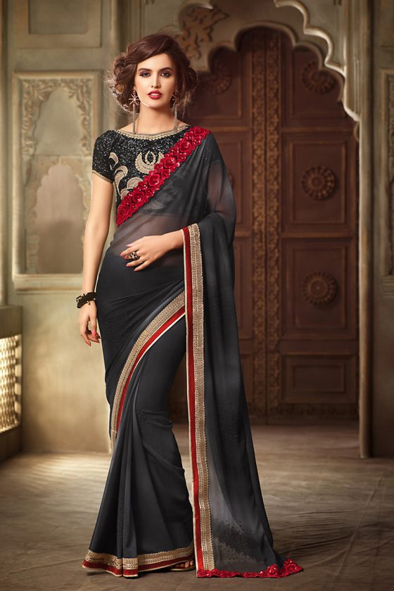 Black-Georgette-Saree-dif-72009