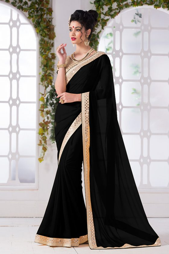 Black-Georgette-Saree-dif-72336
